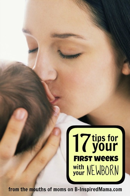 Tips for the First Week Home with a Newborn