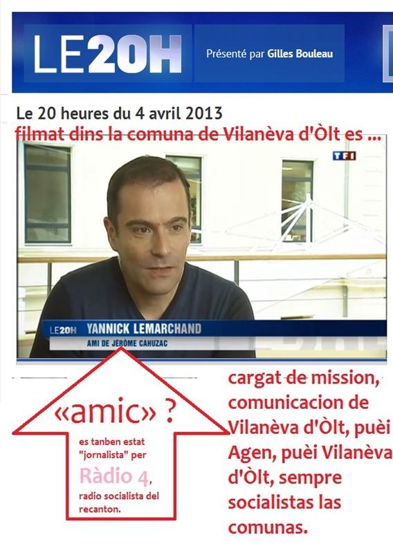 La comunciacion dels socialistas en Agenés