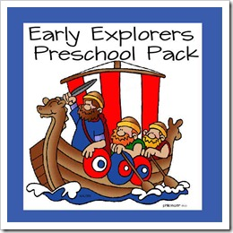 early explorers preschool pack