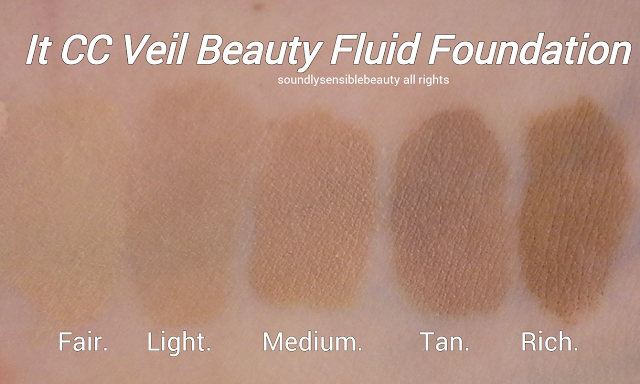 It Cosmetics CC Veil Beauty Fluid Foundation