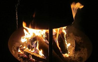 Feuer unter dem Kessel