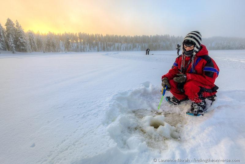 Ice fishing girls - photo#23