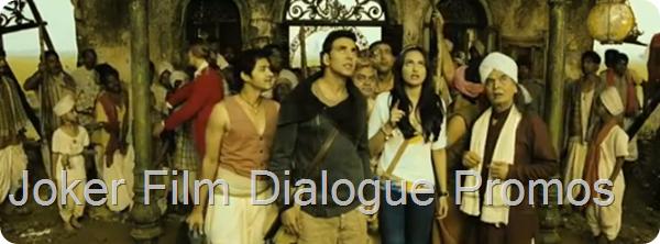 Joker Film Dialogue Promos