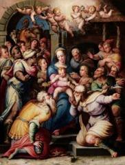 Giorgio Vasari, adorazione dei magi