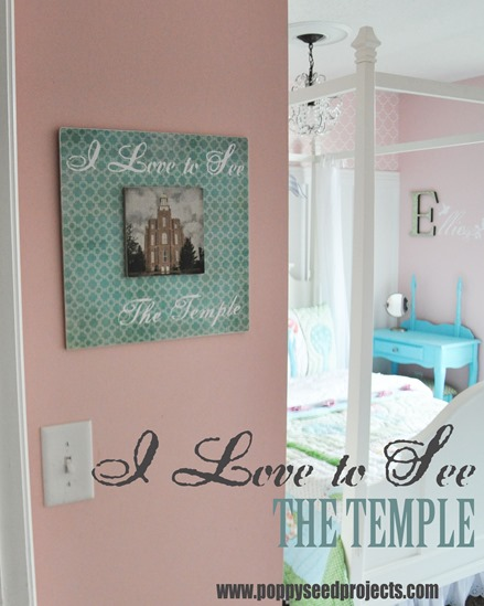 Super Saturday Craft Ideas LDS Temple Projects