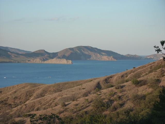 Коктебель Крым Тихая бухта