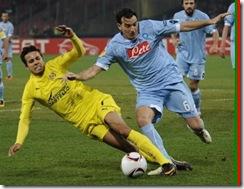 Villareal-Napoli Şampiyonlar Ligi Yayinlari