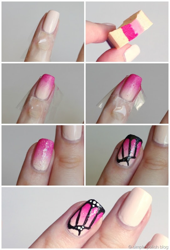 Butterfly-Nails-NailArt-Tutorial-2