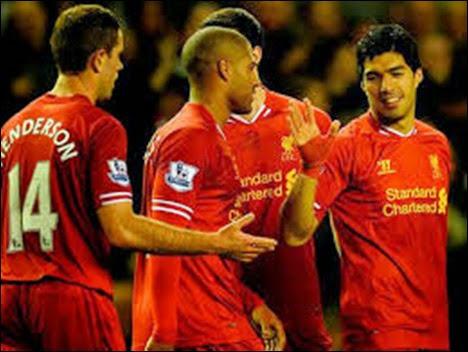Luis Suárez destavca como goleador del Liverpool