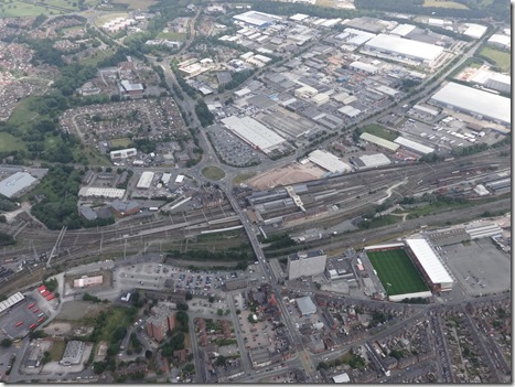 Crewe Alexandra FC - Railway Station - Crewe Business Park - MMU Cheshire