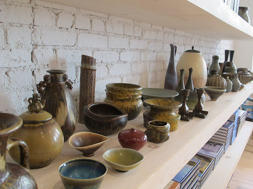 She also has curated a collection Danish and Swedish mid-century ceramics.