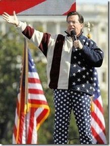 Stephen Colbert in all his pride