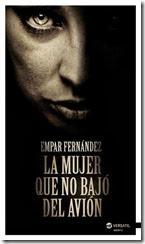 unademagiaporfavor-libro-novela-suspense-febrero-2014-versatil-la-mujer-que-no-bajo-del-avion-empar-fernandez-portada