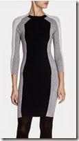Karen Millen Block Knit Dress