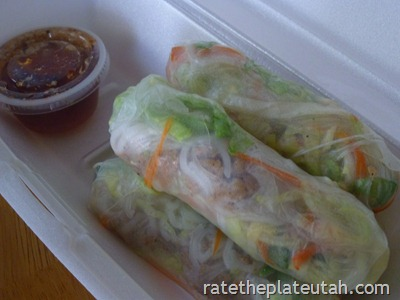 Thai Evergreen Spring Rolls
