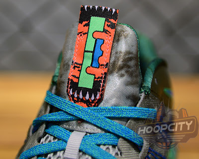 nike lebron 10 low gr black turquoise blue 1 07 Surprise, Surprise... Nike Air Max LeBron X Low Tarp Green