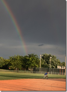 rainbow baseball