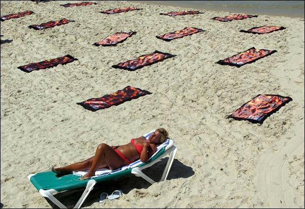 Draps de plage-serviettes de plage-22