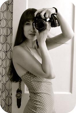 Camera & polka dots