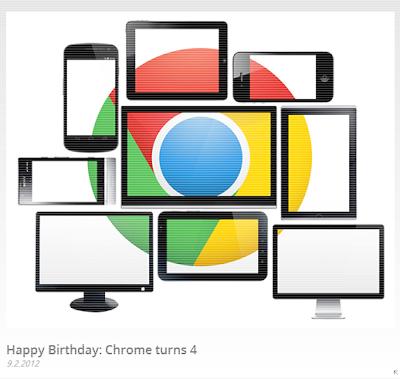 Google Chrome compie 4 anni
