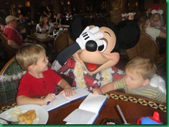 Mickey and boys