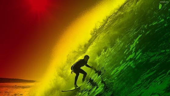 papel de parede surf reggae 06