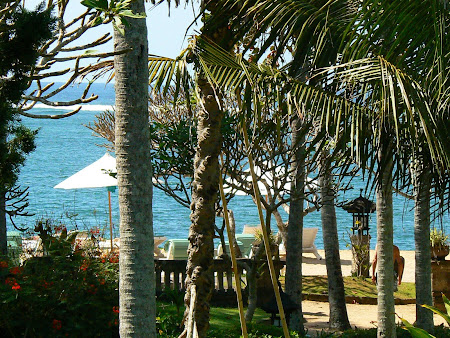 Hotel Hyatt Sanur: the beach