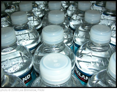 'Water Bottles' photo (c) 2005, Lee Brimelow - license: http://creativecommons.org/licenses/by/2.0/