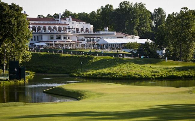 Congressional Clubhouse at 2011 US Open
