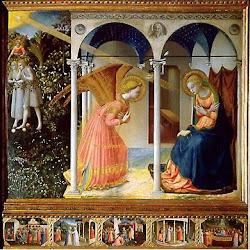 38 - Fran Angelico - Anunciación del Prado
