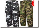 Buy Set of 2 Army Printed Cargo at Rs.499 only