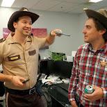 the sheriffs in Etobicoke, Ontario, Canada