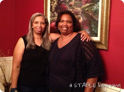 Grandma and cousin Jackie