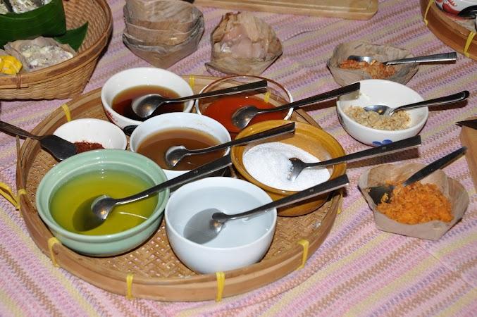 Imagini Thailanda: Ingredientele pentru cursul de gatit, Chiang Mai, Thailanda