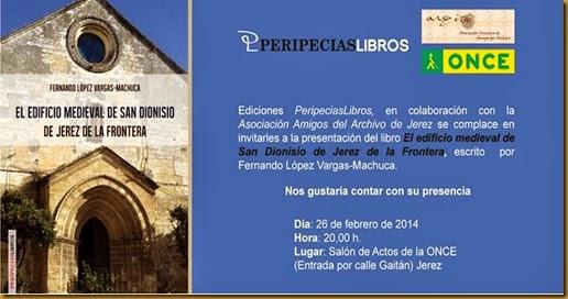 San Dionisio libro invitacion