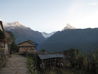 Sunrise in Ghandruk- Start of Day 2