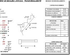 Diseño de gradas o escaleras de hormigón armado