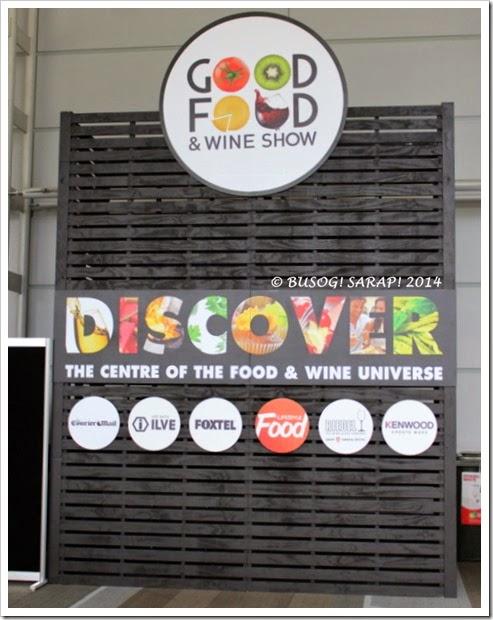 Good Food and Wine Show 2014 - Brisbane © BUSOG! SARAP! 2014