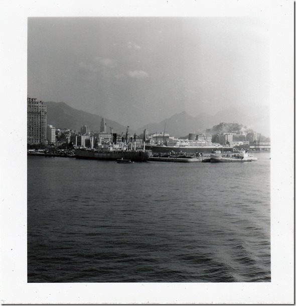 42 -  July 9, 1952 Rio de Janeiro, Brazil - View from the S.S. Brazil Photoshop Color Adjusted