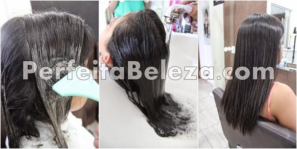 do cabelo escuro para o platinado