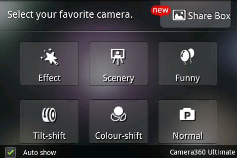 Camera 360 HDR android