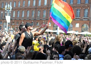 'Gay pride 396 - Marche des fiertés Toulouse 2011.jpg' photo (c) 2011, Guillaume Paumier - license: http://creativecommons.org/licenses/by/2.0/