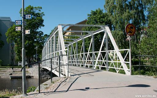Eddaspången sedd från Svartbäcksgatan