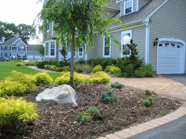 cheap landscaping ideas casual cottage On cheap landscaping ideas