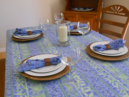 tablescape woven chargers