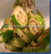 Chitra Pal South Indian Style Baingan or Eggplant (12)