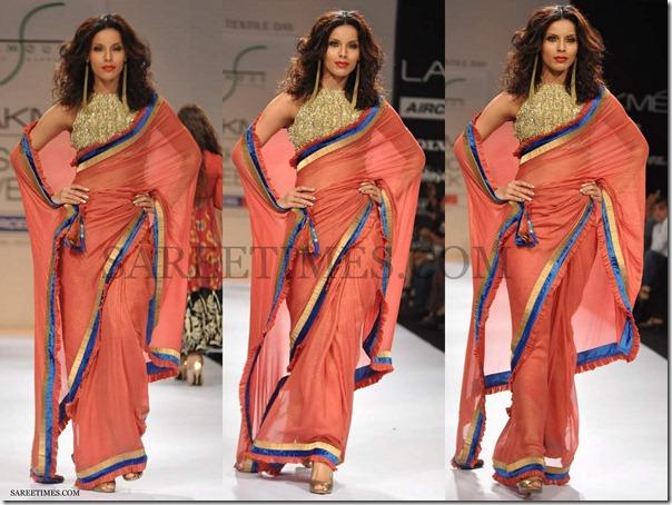 Payal_Kapoor_Pink_Saree