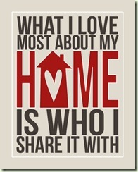 home - who i share it with