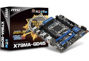 MSI X79MA-GD45 mainboards, Military Class III Components