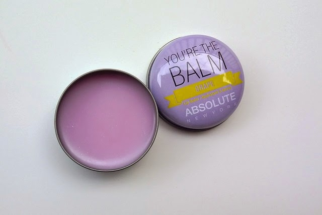 You're the Balm Absolute Lip Balm in Grape